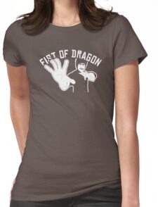 Martial Arts school Womens Fitted T-Shirt