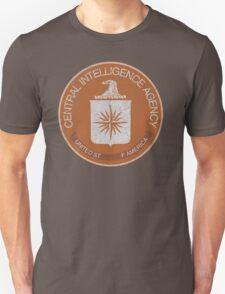 Distressed Vintage CIA Logo T-Shirt