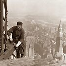 Empire State Building Construction by warishellstore