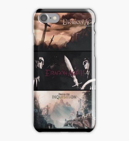 Dragon Age - Trilogy iPhone Case/Skin