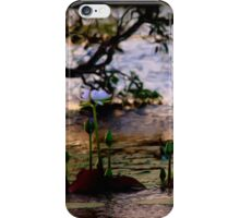 Water Lilies - Emu Park iPhone Case/Skin