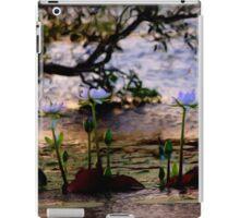 Water Lilies - Emu Park iPad Case/Skin