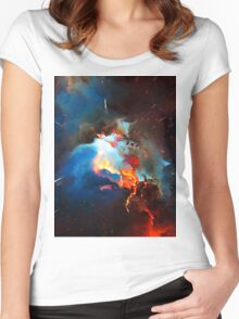 Abstract 52 Women's Fitted Scoop T-Shirt