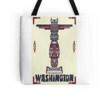 Washington State Poster Tote Bag