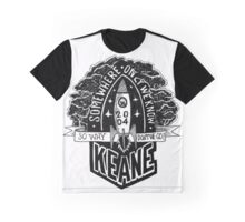 SONG LYRICS : SOMEWHERE ONLY WE KNOW Graphic T-Shirt