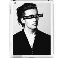 WHAT A SHAME!  iPad Case/Skin
