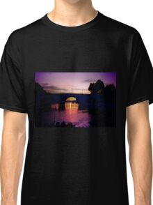 Cruising the Seine at Sunset Classic T-Shirt
