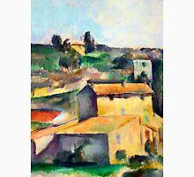 1895 - Paul Cezanne - Fields at Bellevue Unisex T-Shirt