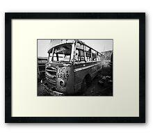 old bus Framed Print