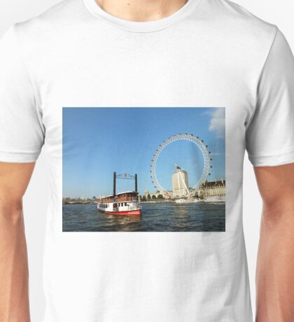 The Elizabethan, Thames River Unisex T-Shirt