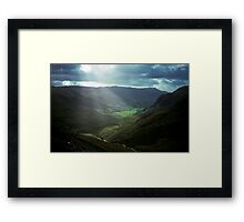 Snowdonia, Wales, United Kingdom Framed Print