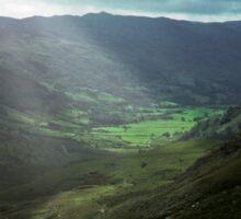 Snowdonia, Wales, United Kingdom Sticker