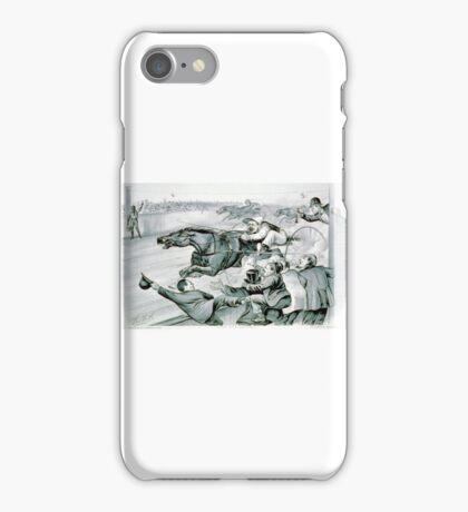 First under the wire - 1878 iPhone Case/Skin