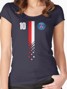 Paris Saint-Germain Design - Alternate Version Women's Fitted Scoop T-Shirt