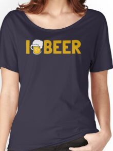 I {Heart} Beer Women's Relaxed Fit T-Shirt