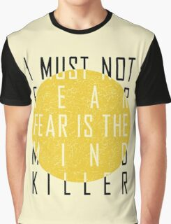 Dune - The Litany Against Fear Graphic T-Shirt