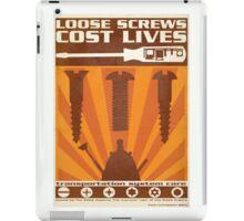 Time War Propaganda II iPad Case/Skin