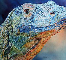 Komodo Dragon by Katmosphere