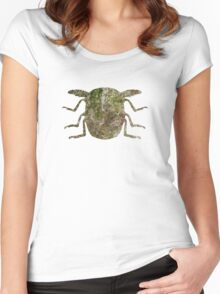Insect Texture Outline 2 Women's Fitted Scoop T-Shirt