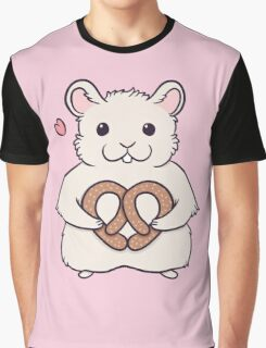 I love you more than this hamster loves pretzels Graphic T-Shirt