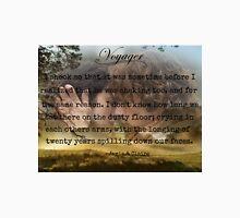 Outlander/Jamie & Claire Fraser/Diana Gabaldon/Voyager Unisex T-Shirt