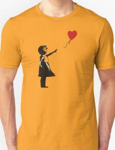 Banksy - Girl with Balloon Unisex T-Shirt