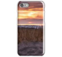 Sunset On the Grasses - Erie, PA iPhone Case/Skin