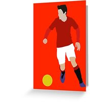 Ander The Red Greeting Card