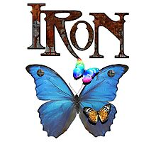 Iron Butterfly Photographic Print