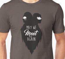 """May We Meet Again""   The 100: Clarke and Lexa Silhouette Design  Unisex T-Shirt"