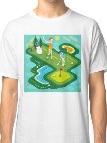 Golf Match Women Classic T-Shirt