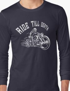bike rider Long Sleeve T-Shirt