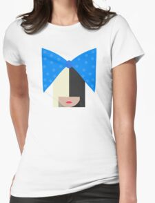 Sia (White) Womens Fitted T-Shirt