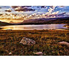 Evening at Island Lake Photographic Print