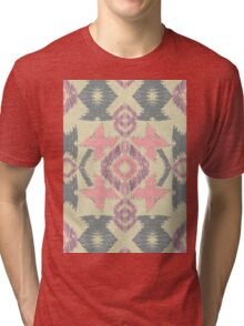 Girly Ikat  Tri-blend T-Shirt