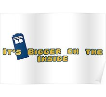 It's bigger on the inside! Poster