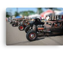 Rat Rods Canvas Print