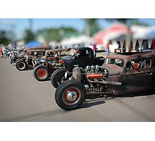 Rat Rods Photographic Print