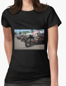 Rat Rods Womens Fitted T-Shirt