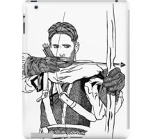 Robin Hood_Once upon a time iPad Case/Skin