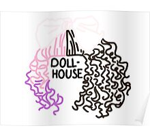 Dollhouse Hair and Lyrics Design  Poster