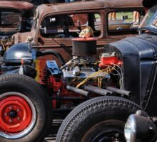 Rat Rods 2 Sticker