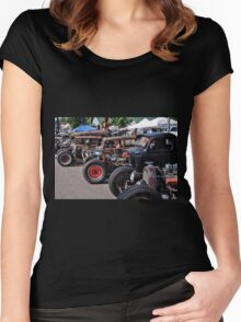 Rat Rods 2 Women's Fitted Scoop T-Shirt