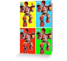 The HulkBuster Greeting Card