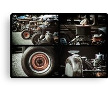 Rat Rods 3 Canvas Print