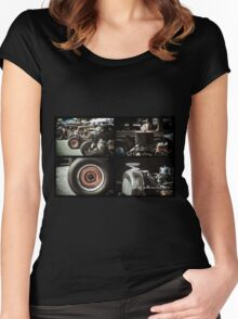 Rat Rods 3 Women's Fitted Scoop T-Shirt