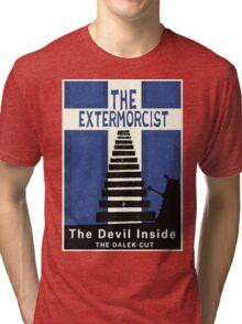 The Devil Inside. The Dalek Cut. Tri-blend T-Shirt