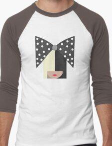 Sia (Black) Men's Baseball ¾ T-Shirt