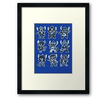 Alien Rockstar Framed Print