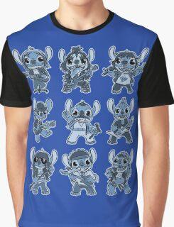 Alien Rockstar Graphic T-Shirt